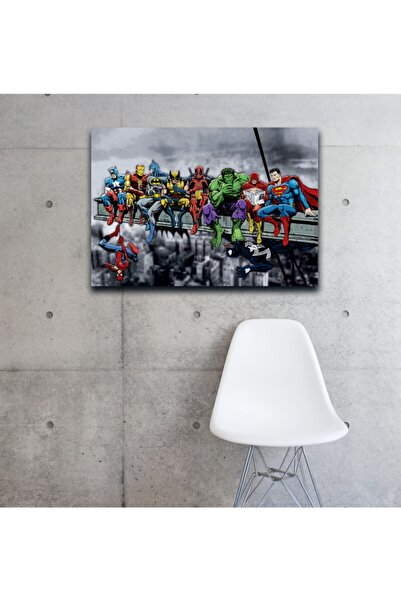 DNArt Marvel & Dc Superheroes Kanvas Tablo 70x50cm