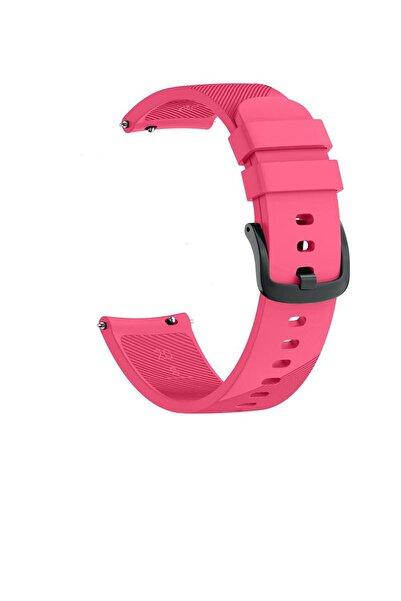 TahTicMer Huawei Watch Gt 46mm Sport Kordon Silikon Pembe