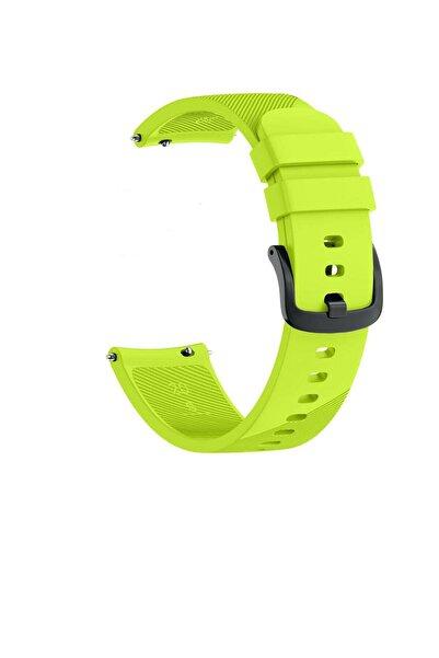 TahTicMer Huawei Watch Gt 46mm Sport Kordon Silikon Yeşil