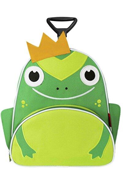 DAMIEN Zoozy Kurbağa Çekçekli Anaokulu Çantası