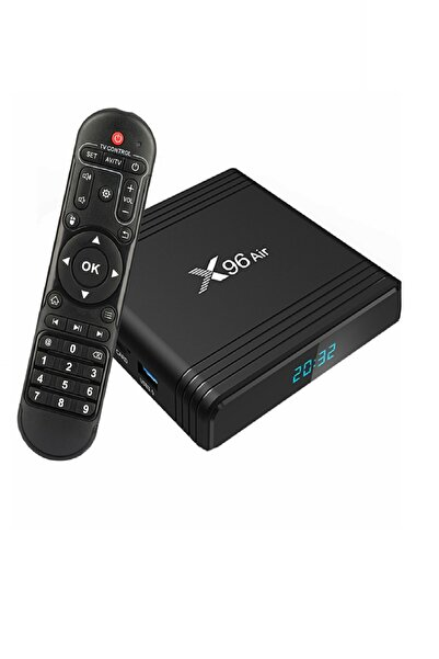 x96air Tv Box Android 9.0 Amlogic S905x3 Akıllı Media Player Wifi 4k 8k 24fps 4gb Ram 32gb Rom 2.4g & 5g