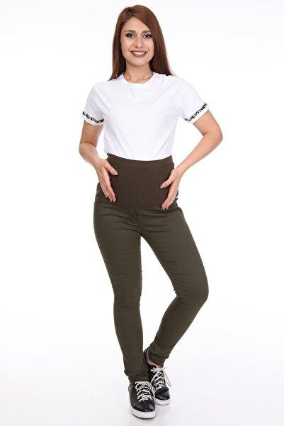 Modayız Yeşil Hamile Pantolonu 7b-1099