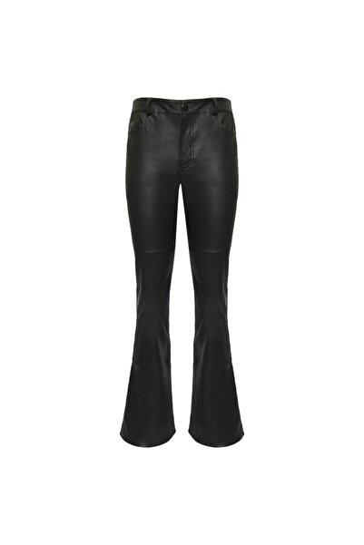 Desa Kadın Siyah Arina Kadın Deri Streç Pantolon