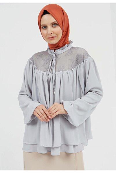 Setrms Büzgü Detaylı Bluz