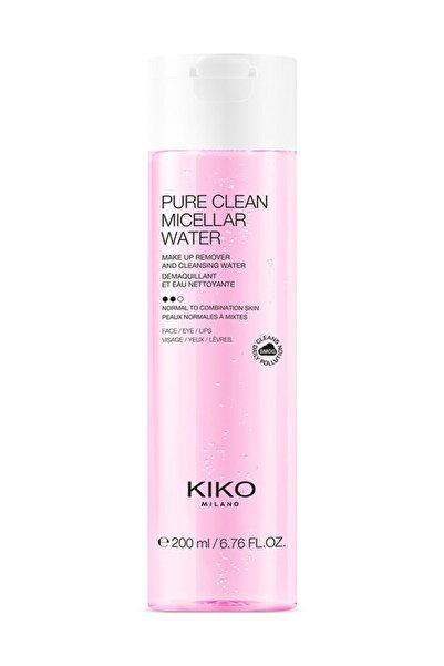 KIKO Aksöğüt Özlü Temizleyici Micellar Su - Pure Clean Micellar Water Normal To Combination 200Ml