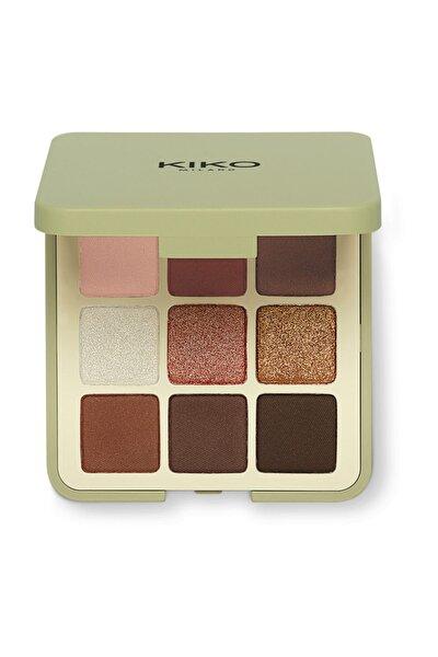 KIKO 9'lu Far Paleti - New Green Me Eyeshadow Palette 101 Cool Spice