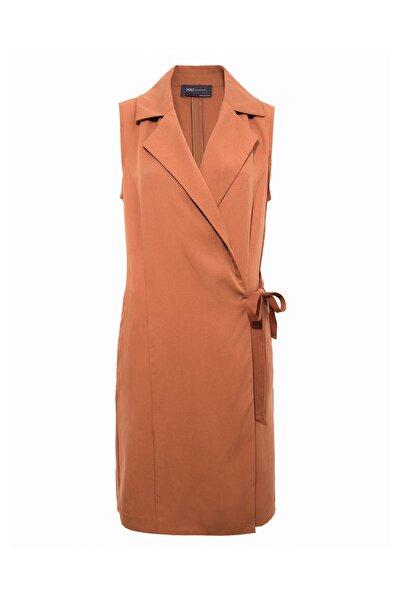 Marks & Spencer Kadın Turuncu Tailored Yelek T59000504X