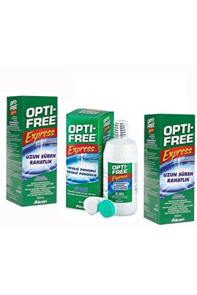 Opti Free 355 ml 3'lü Paket Lens Solüsyonu 12/2021