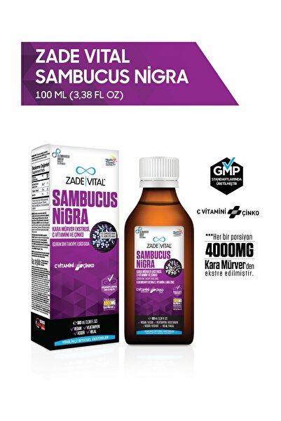 Zade Vital Zadevital Sambucus Nigra Şurup 100ml (karamürver, C Vitamini, Çinko)