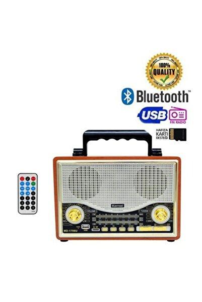 Cadence Kemai Md-1706bt Nostaljik Retro Radyo Usb Bluetooth Sd