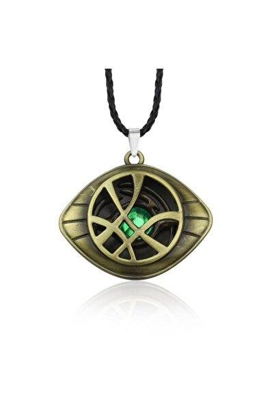 Köstebek Bakır Doctor Strange Eye Of Agamotto Replica Kolye