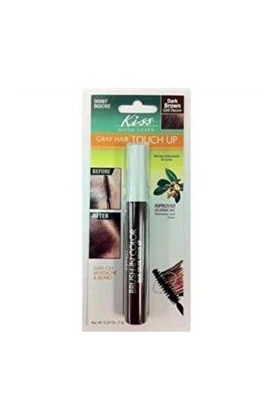 Kiss Beyaz Saç Kapatıcı - Brush in Color Kahverengi 731509005875