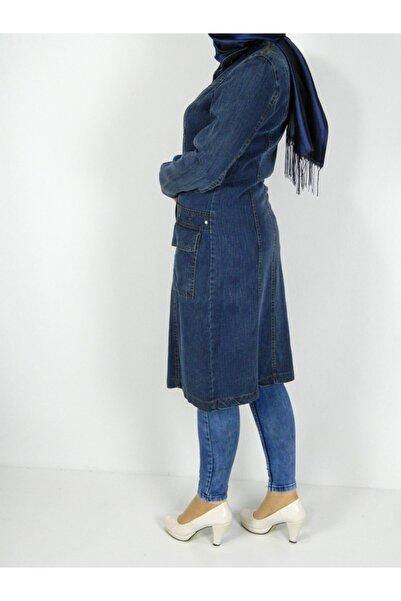 Kadın Tensıl Kot Tunik