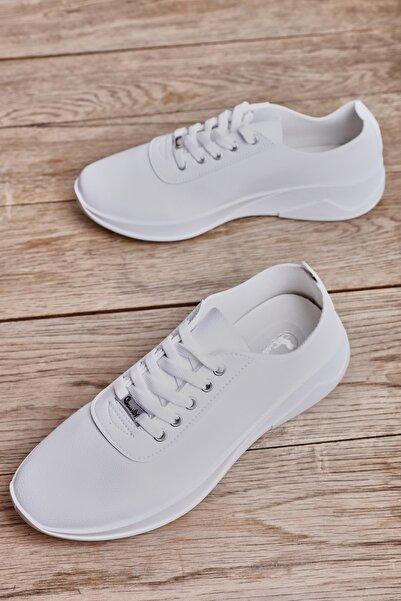 Beyaz Kadın Sneaker L05431000