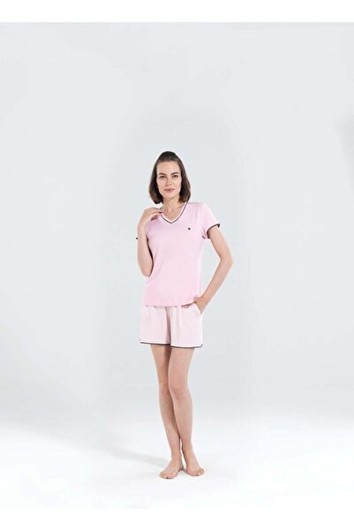 Blackspade Kadın Pembe Kısa Pijama Takımı 50153