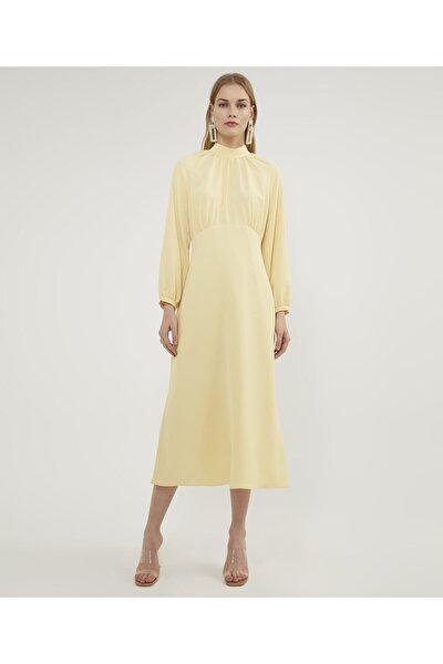 Aker Kadın Sarı Reglan Sarı Elbise V42880123
