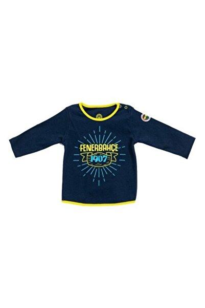 Fenerbahçe Lisanslı Unisex Bebek Uzun Kollu T-shirt Lacivert
