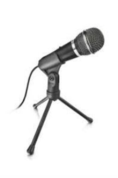 Trust Siyah Starzz Pc Laptop Uyumlu 3.5mm Mikrofon 21671