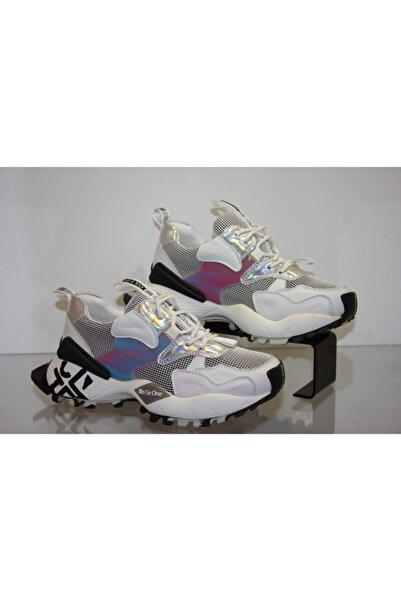 Guja Unisex Beyaz Yürüyüş Ayakkabısı 20y300-1