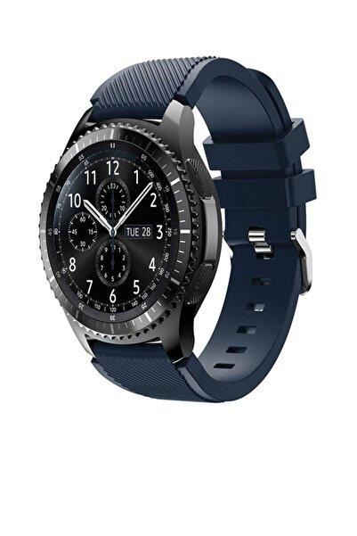 TahTicMer Huawei Watch Gt2 46mm Sport Kordon Silikon Lacivert