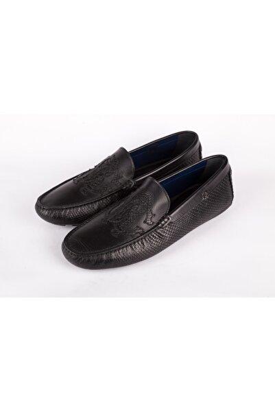 Roberto Cavalli Erkek Siyah Ayakkabı Loafer