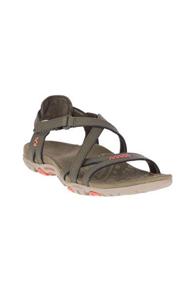 Merrell Kadın Yeşil Sandalet