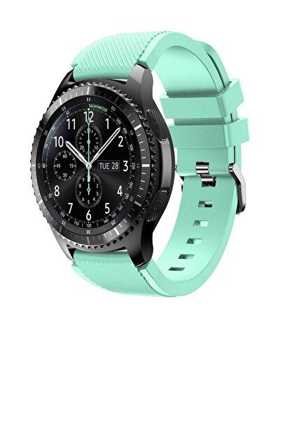 TahTicMer Huawei Watch Gt 46mm Sport Kordon Silikon Açık Yeşil