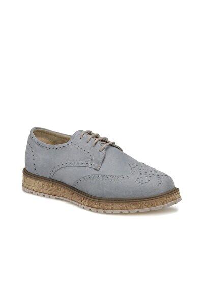 Butigo Açık Mavi Kadın Oxford Ayakkabı 19s-259