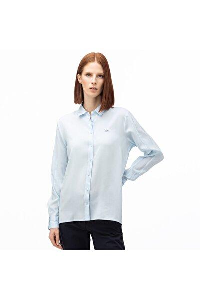 Lacoste Kadın Açık Mavi Gömlek CF0005