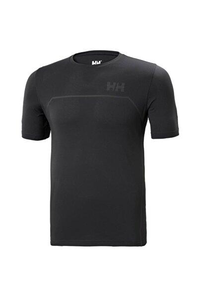 Helly Hansen Erkek Siyah Spor T-Shirt Hh Hp Foil Ocean T-shirt