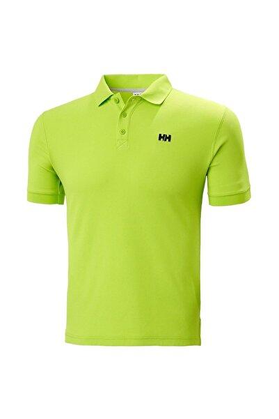 Helly Hansen Erkek Yeşil Polo T-shirt Hh Driftline