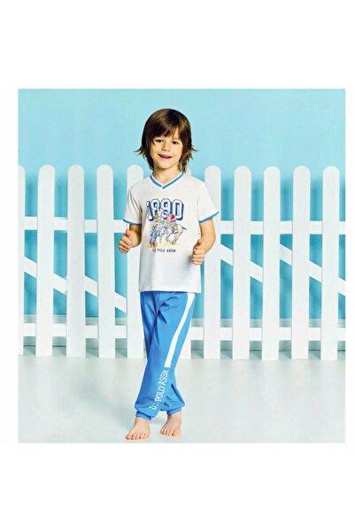 U.S. Polo Assn. Erkek Çocuk Pamuklu Pijama Takımı 9188
