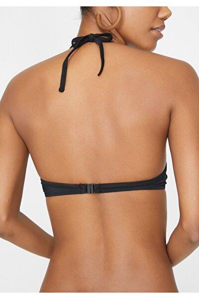 Kadın Siyah Bikini Üstü 9YAK89552OM