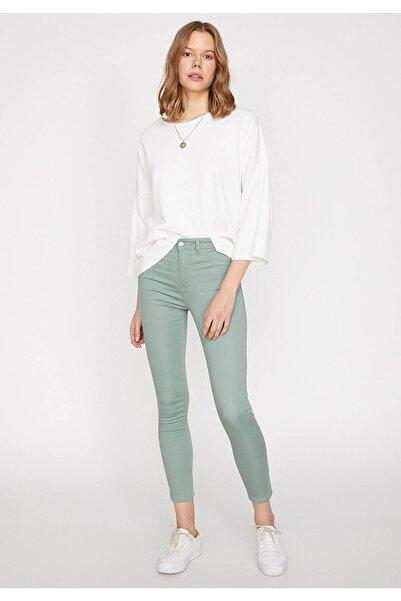Kadın Yeşil Pantolon 9YAK43222MW