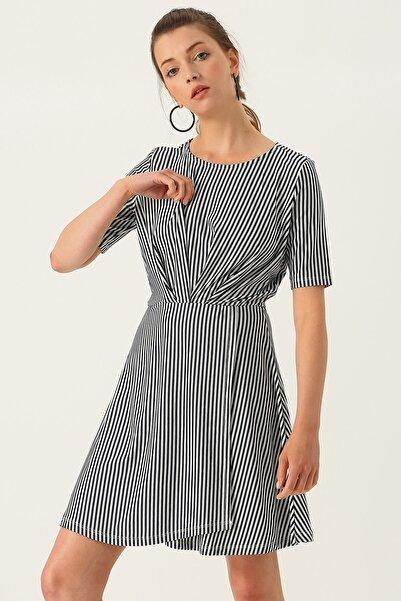 Vero Moda Kadın Mavi Elbise 503255228