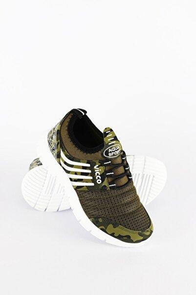 Vicco Spor Haki Ayakkabı
