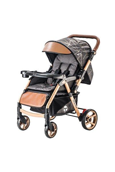 Johnson Baby Care Maxi Gold Çift Yönlü Bebek Arabası