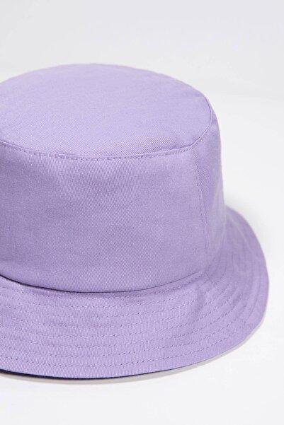 Addax Kadın Lila Şapka ŞPK507 - AKS ADX-0000021483
