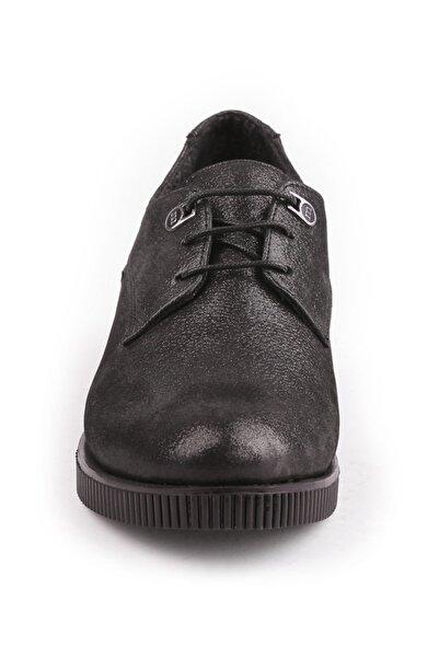 390 Nubuk Gerçek Deri Bayan Ayakkabı