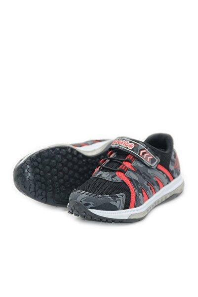 Arvento Siyah Suni Kaplama Erkek Çocuk Spor Ayakkabı