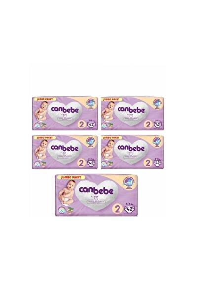 Canbebe Jumbo Paket 2 Numara 210 Adet
