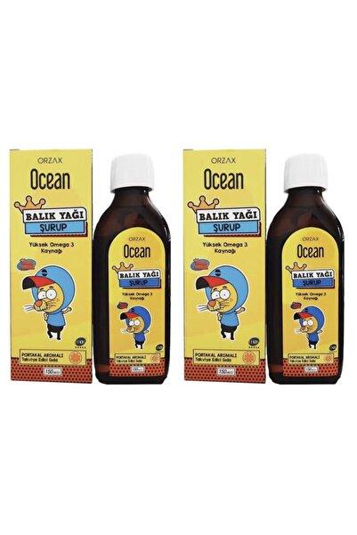 Ocean Balık Yağı Portakal Aromalı Omega 3 Kral Şakir 150 ml 2 Adet