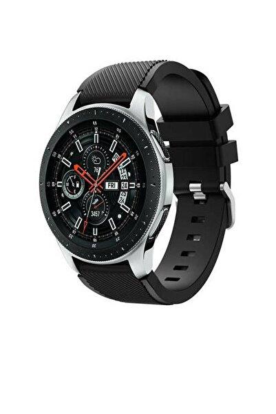 Omelo Siyah Huawei Watch Gt2 46 mm Sport Silikon Kordon