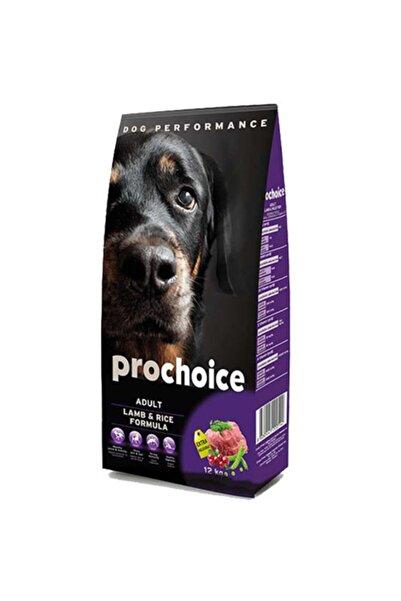 Pro Choice Adult Lamb Kuzu Etli Yetişkin Köpek Maması 12 kg