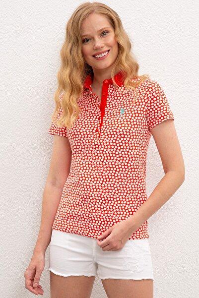 U.S. Polo Assn. Kadın T-Shirt G082GL011.000.964096