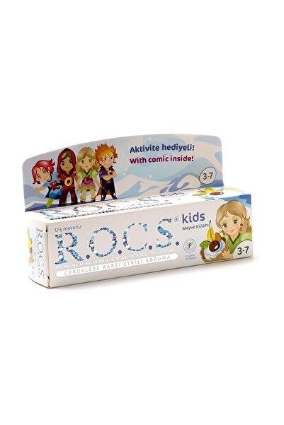 R.O.C.S. Kids 3-7 Yaş Diş Macunu Meyve Floridsiz 45G