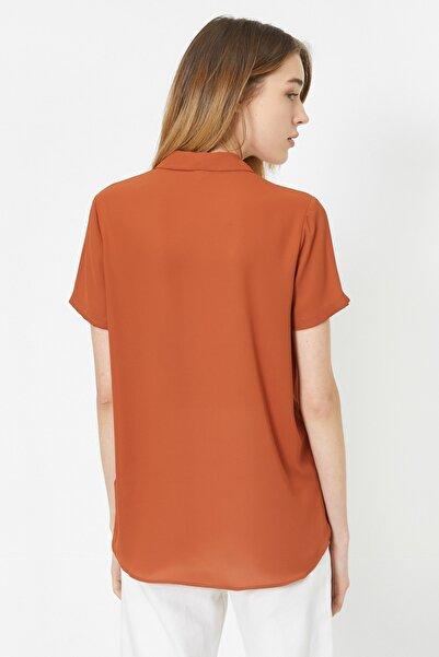 Kadın Kahverengi Gömlek 0KAK68647PW