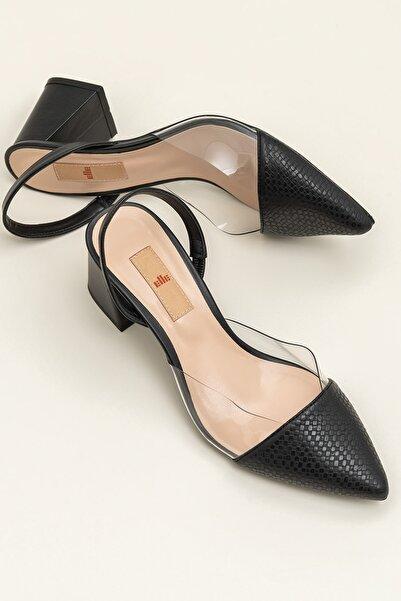Elle Shoes SWATI Siyah Kadın Ayakkabı