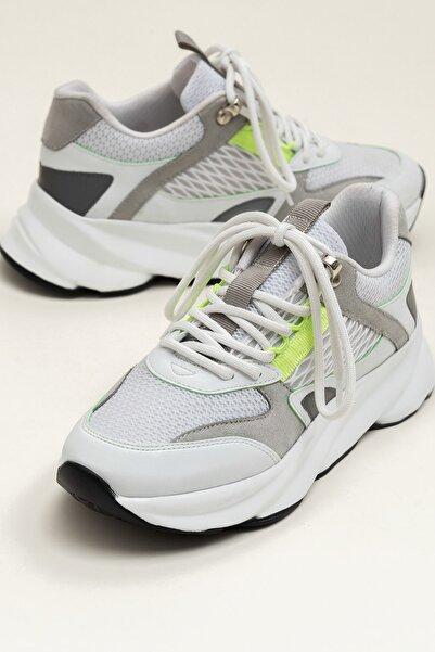 Elle Shoes ANJELA Yeşil Neon Kadın  Sneaker 20YKN5205
