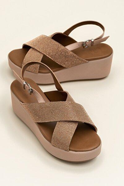 Elle Shoes SISSEL Pudra Sandalet 20YLT123059